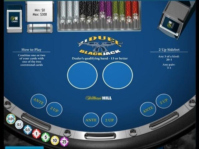 21 Duel Blackjack Slot