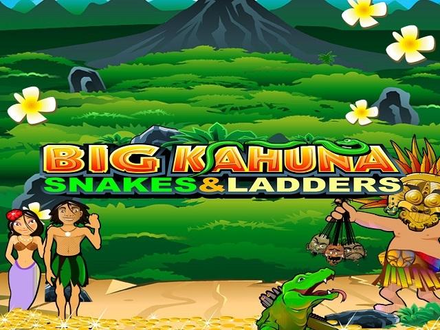 Big Kahuna Snakes And Ladders Slot