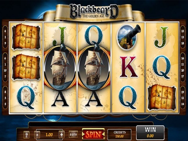 Blackbeard The Golden Age Slot