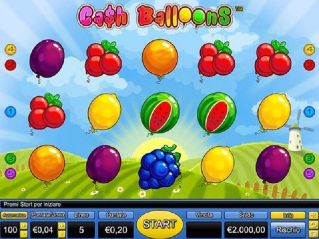 Cash Balloons Slot