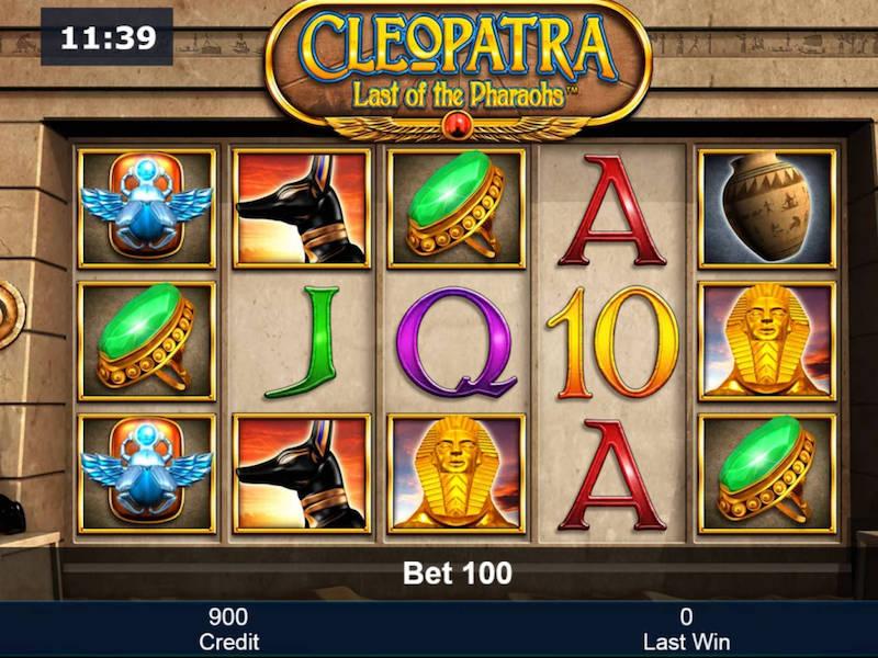 Cleopatra Last Of The Pharaohs Slot
