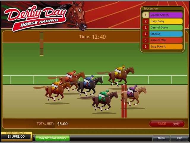 Derby Day Horse Racing Slot