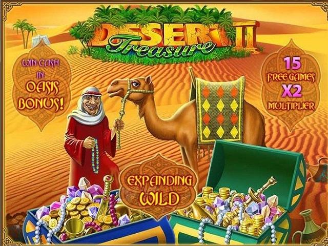 Desert Treasure II Slot
