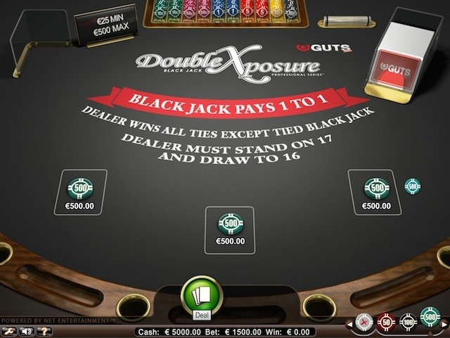 Double Exposure Blackjack Pro Series Slot