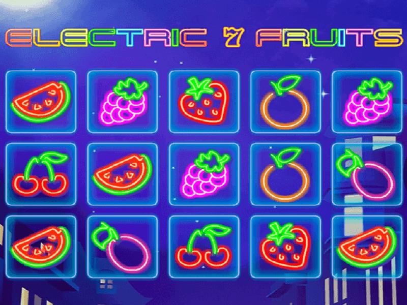 Electric 7 Fruits Slot