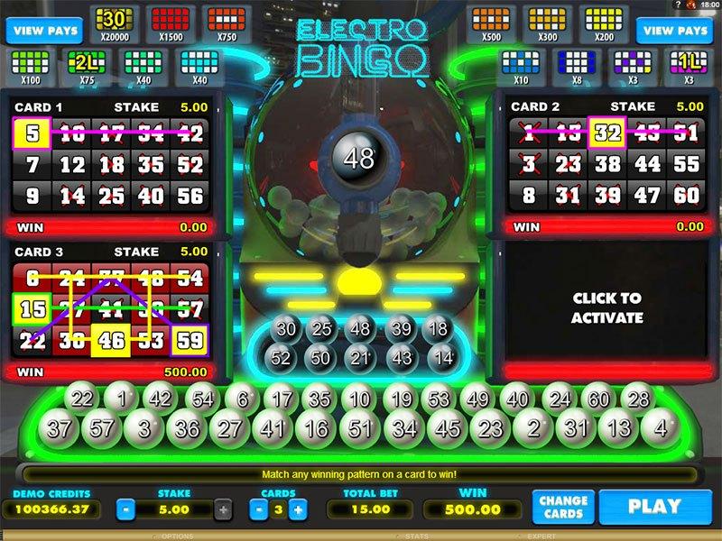 Electro Bingo Slot