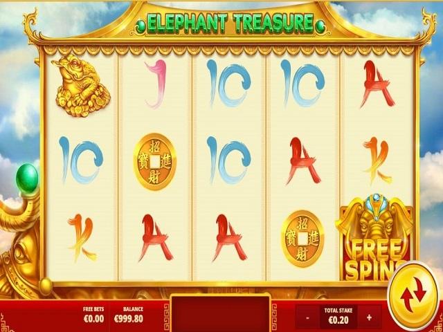 Elephant Treasure Slot