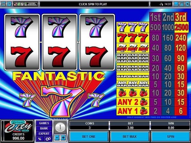 Fantastic Sevens Slot