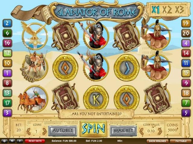 Gladiators Of Rome Slot