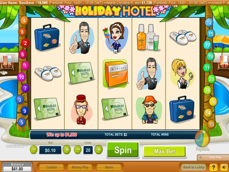 Holiday Hotel Slot