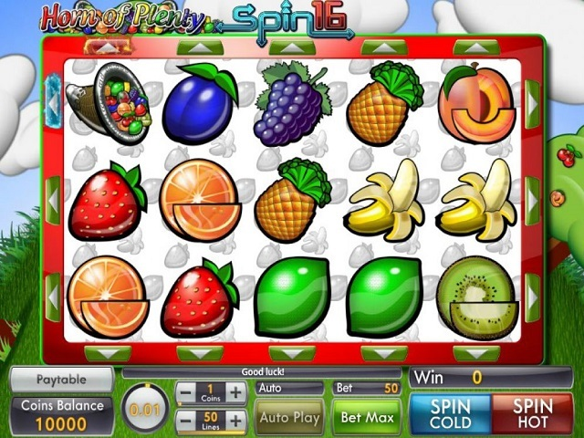 Spiele Horn Of Plenty Spin 16 - Video Slots Online