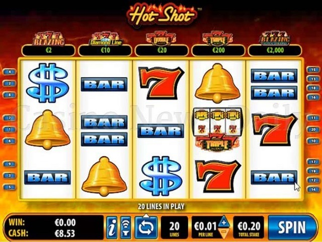 Hot Shot by Betsoft Slot