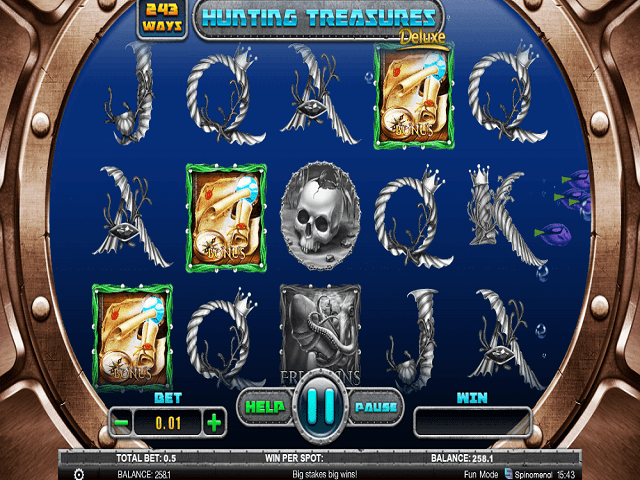 Hunting Treasures Deluxe Slot