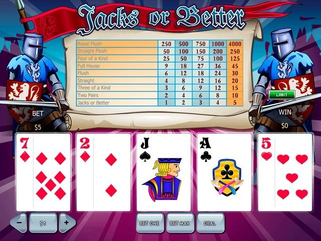 Jacks Or Better by Playtech Slot