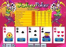 Joker Poker Video Poker