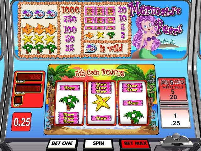 Mermaid's Pearl by Betsoft Slot