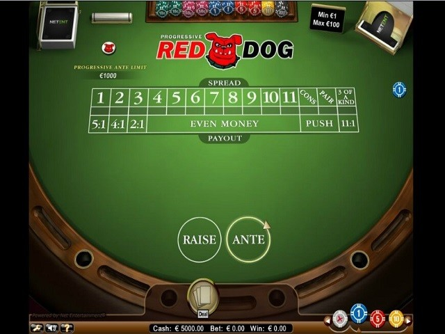 Red Dog Progressive Slot