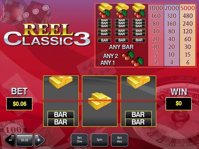 Reel Classic 3 Slot