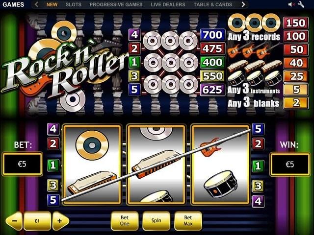 Rock 'N' Roller Slot