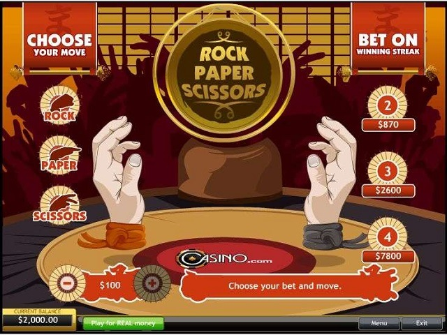 Rock Paper Scissors Slot