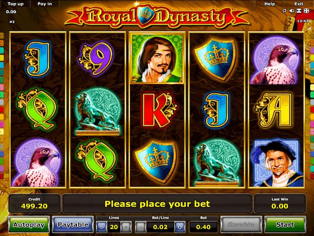Royal Dynasty Slot