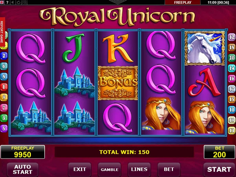 Royal Unicorn Slot
