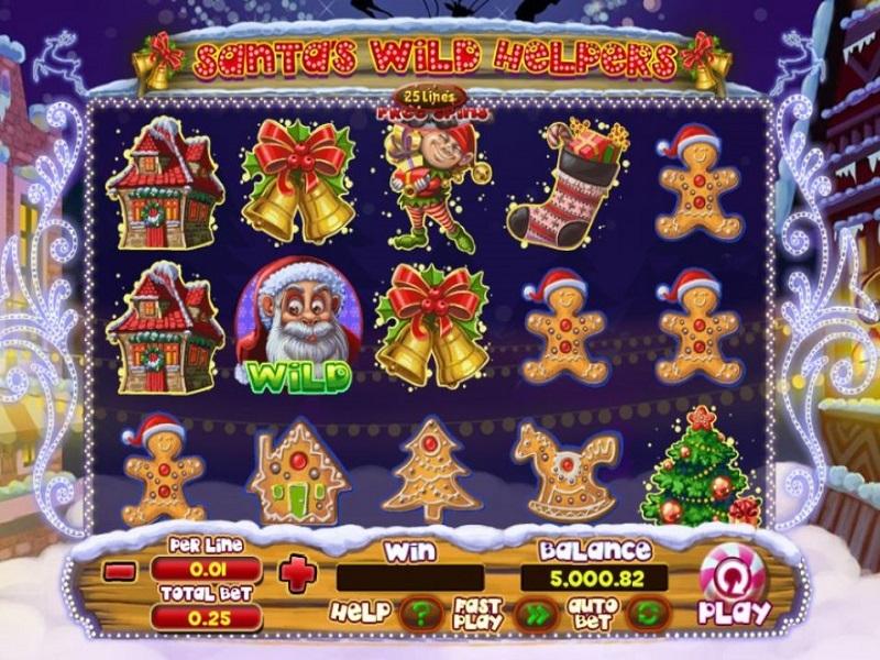Santa Wild Helpers Slot