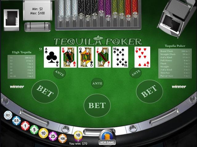 Tequila Poker Slot