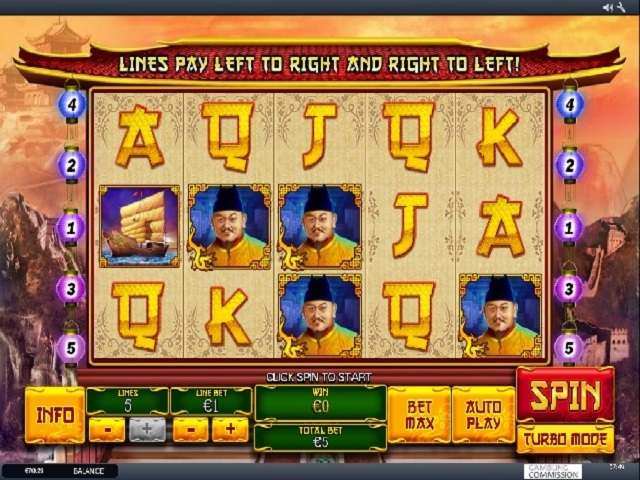 The Great Ming Empire Slot