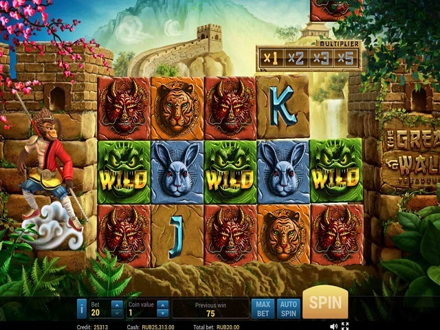 The Great Wall Treasure Slot