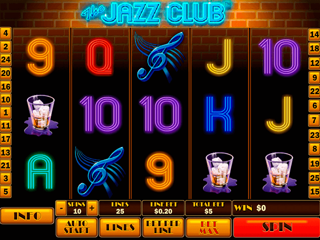 The Jazz Club Slot