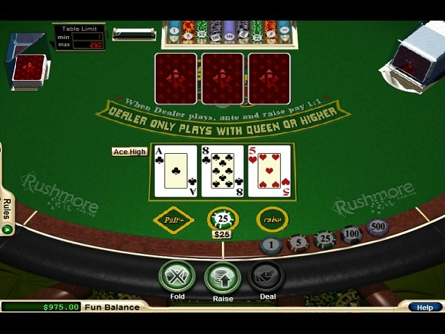 Three Card Poker Slot