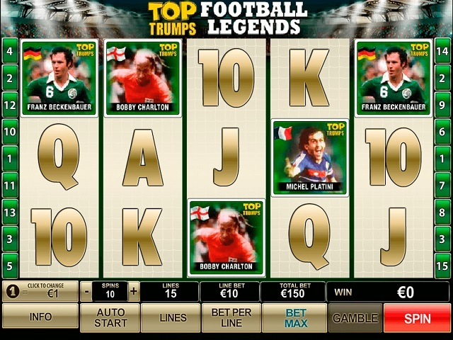 Top Trumps Football Legends Slot