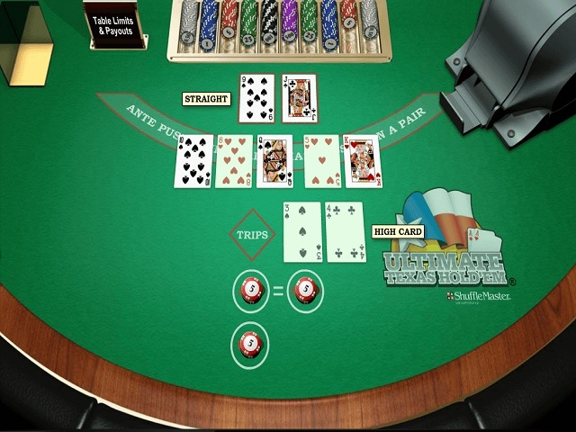 Ultimate Texas Hold'em Slot
