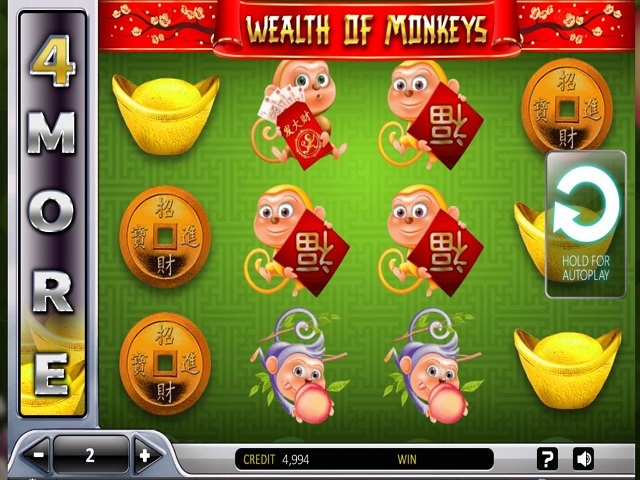 Wealth Of The Monkey Slot