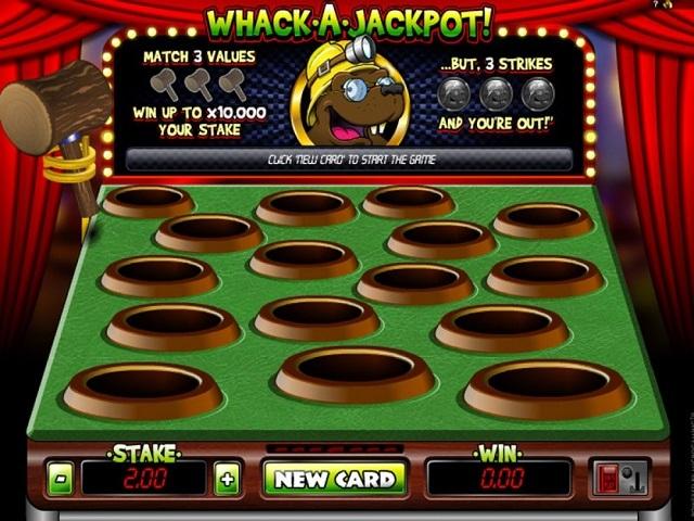 Whack A Jackpot Slot