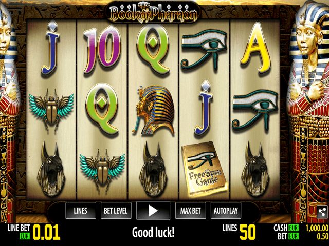Book Of Pharaoh Slot