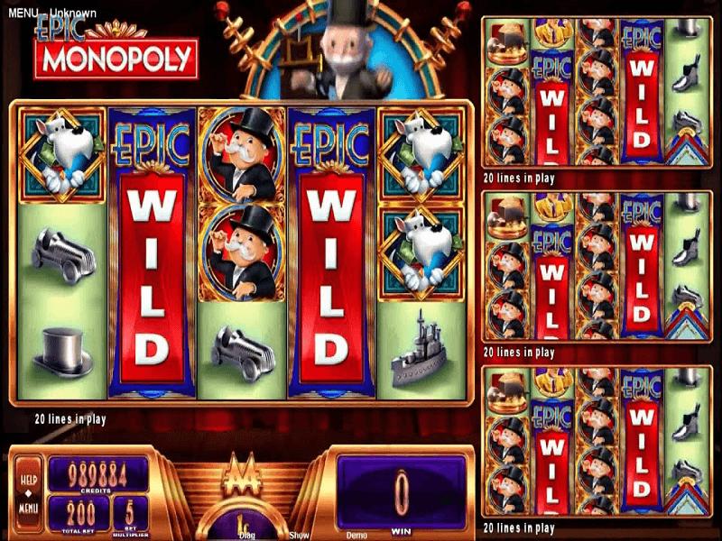 Epic Monopoly Slot