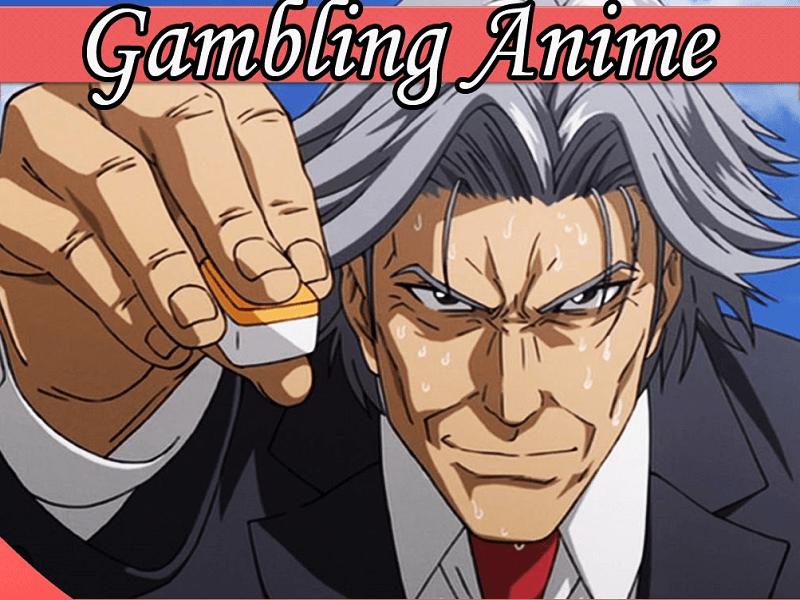 anime sinister man gambling