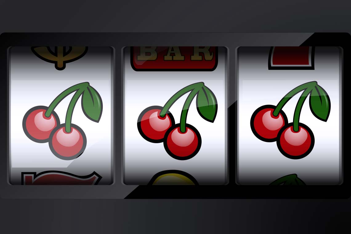 Slot Machine Cherries