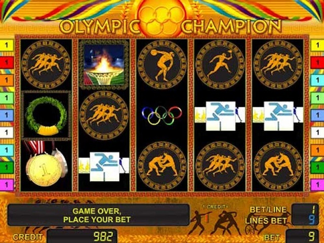 Olympic Champion Slot