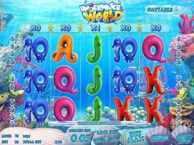 Underwater World Slot