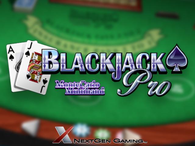 Blackjack Pro MonteCarlo Multihand Slot