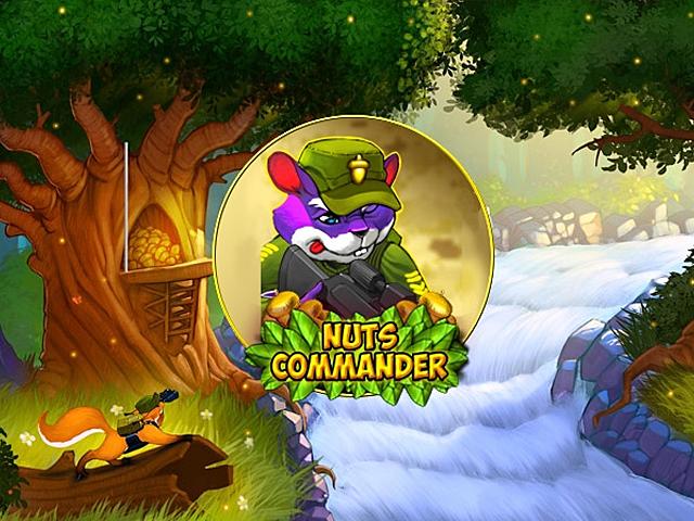 Nuts Commander Slot