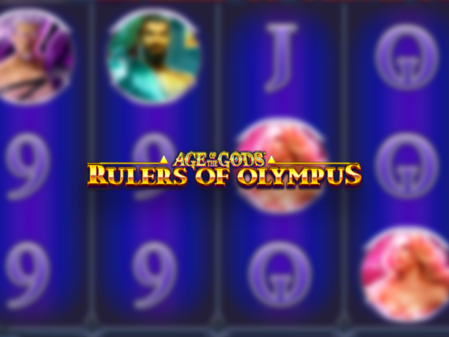 Age of Gods Rulers of Olympus Slot