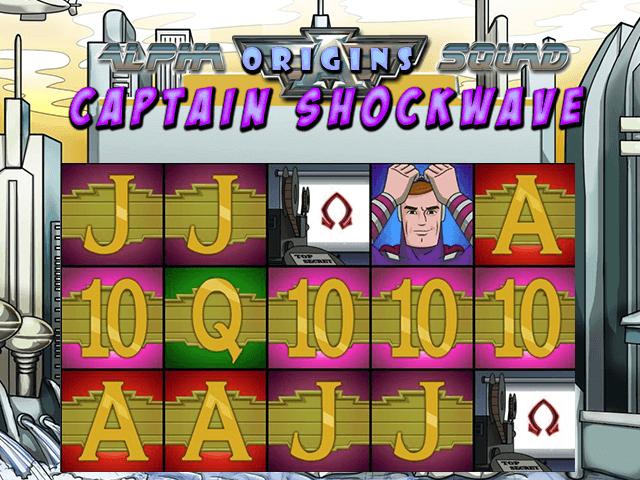 Alpha Squad Origins Captain Shockwave Slot