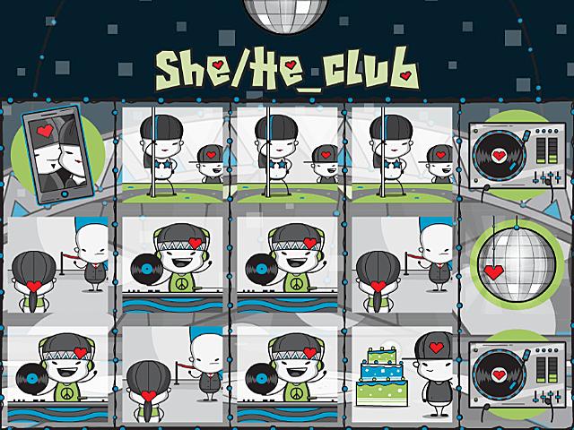 She/He Club Slot