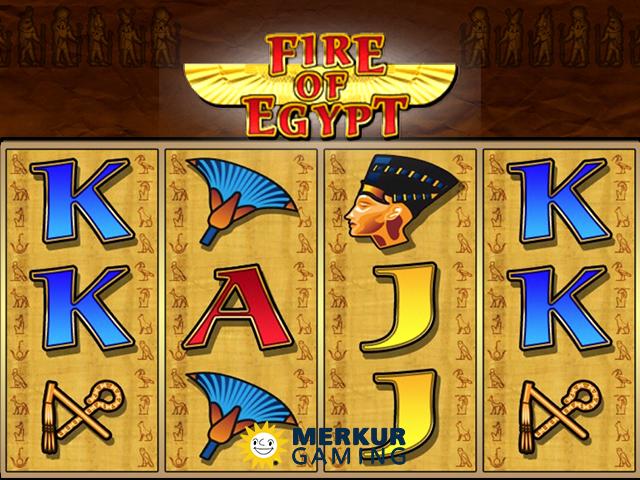 Fire of Egypt Slot
