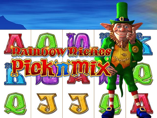 Rainbow Riches Pick'n'Mix Slot