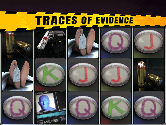 Traces Of Evidence Slot